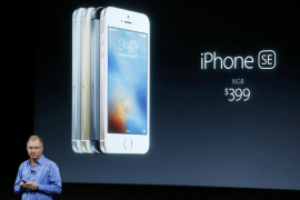 Apple lanza el nuevo iPhone SE, más pequeño y más barato