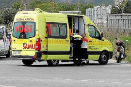 Una mujer resulta herida tras una colisión entre tres vehículos en Vila