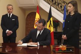 """Los Reyes: """"El dolor de Bélgica es también el dolor de España"""""""