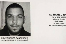 La Policía busca a un sospechoso relacionado con Bruselas y París