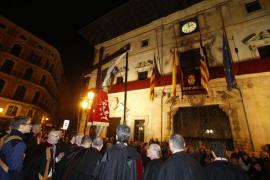 Mucha devoción en el Dijous Sant de Palma