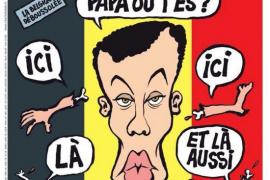 'Charlie Hebdo' desata la polémica con una portada sobre los atentados de Bruselas