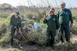 Los trabajadores de Vila contratados con el Fondo Social Europeo ponen 'guapa' la ciudad