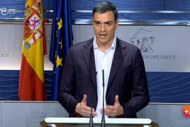 Sánchez ofrece a Iglesias un Gobierno  entre PSOE, Ciudadanos y Podemos
