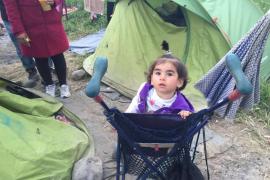 Voluntarios de Mallorca, testigos directos de la situación de los refugiados en Idomeni