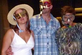 Fiesta de Máscaras en el Melià de Mar