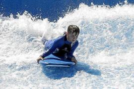Una ola artificial