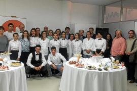La Escola de Formació de Santa Eulària ofrece un «oportuno» cóctel de fin de curso