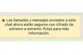 WhatsApp activa el cifrado de los mensajes para todos los usuarios