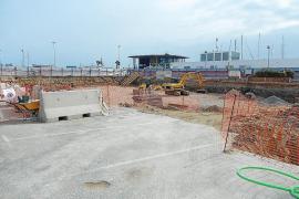 Retraso en las obras del edificio de aparcamientos de la Savina