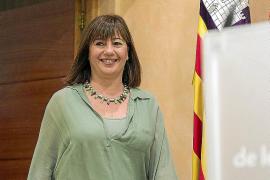 Armengol convence a Pilar Costa y será la consellera de Presidència y la portavoz