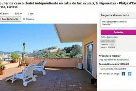 Se alquila por 7.500 euros al mes un piso en Puig des Molins de dos habitaciones para el verano