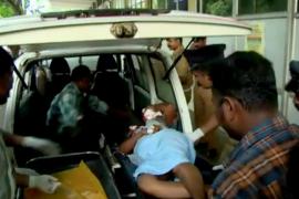 Al menos 105 muertos y 350 heridos en el incendio de un templo en la India