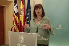 """Francina Armengol: """"No pensamos recortar derechos sociales a los ciudadanos"""""""