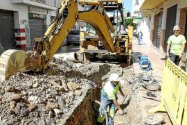 Una avería deja sin agua toda la mañana a decenas de vecinos en Sant Antoni