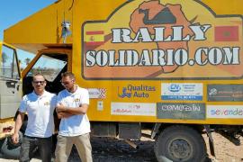 Un ibicenco participa en una expedición solidaria por Marruecos