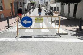 El PP de Sant Antoni critica el «caos» que genera el tripartito por cortar calles sin previo aviso
