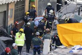 Recuperado el cuerpo de una segunda mujer fallecida  en el derrumbe del edificio de Tenerife