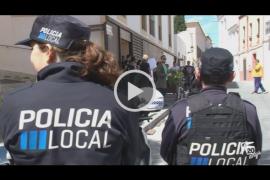 Las familias de las infraviviendas de sa Penya 'calientan' el desalojo con protestas en Can Botino