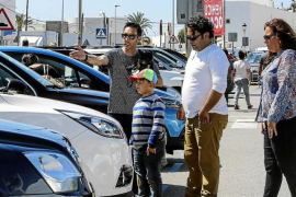Sant Jordi arranca su feria de coches
