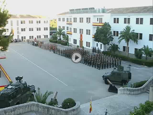 Emotiva despedida a los 40 militares de Balears que se van a Afganistán