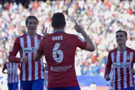 Koke lidera el triunfo del Atlético de Madrid ante el Granada