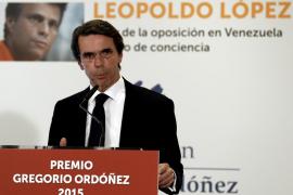 Aznar denunciará «revelación de datos tributarios» tras hacerse pública la multa que le puso Hacienda
