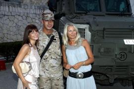 Despedida a los militares de Balears que se van a Afganistán