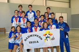 Eivissa regresa con 14 medallas del Campeonato de Balears escolar