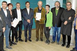 Entrega de los Premis Cavall Verd de Poesía