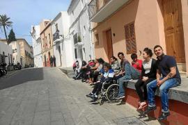 Vila mantiene el pulso en sa Penya y solo ofrecerá ayudas transitorias a los desalojados