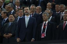 La Audiencia Nacional obliga a investigar la pitada al himno en la final de la Copa del Rey
