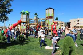 Santa Eulària estrena un parque infantil de 5.000 metros cuadrados en Cas Capità