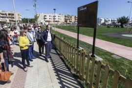Inauguración del nuevo parque infantil en Cas Capità