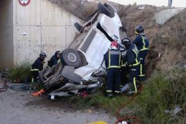 Cinco muertos y tres heridos en un grave accidente entre Lorca y Águilas