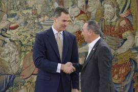 Compromís propone al Rey un acuerdo in extremis para evitar las elecciones