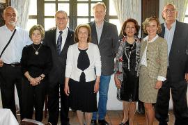 Comida por la jubilación del comisario de la Policía Nacional Bartolomé Campaner