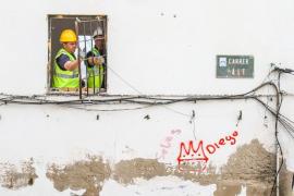 """Vila destaca la """"normalidad"""" del proceso de desalojo de Sa Penya"""