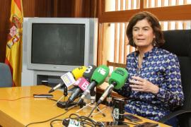 Sánchez-Cortés anuncia el derribo para los nuevos juzgados de Eivissa en mayo