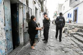 Räumung der besetzten Häuser von sa Penya hat begonnen
