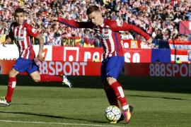 El Atlético mantiene el ritmo gracias a un gol de Griezmann