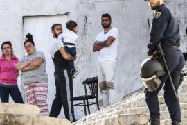 Gitanos werden von Dalt Vila vertrieben