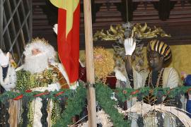 CABALGATA DE LOS REYES MAGOS 2003 EN PALMA.