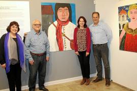 Inauguración de la exposición 'Els personatges de Gaspar Hauser'