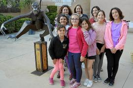 Muestra de esculturas en Santa Maria