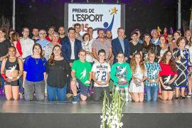 La fiesta de los Premis de l'Esport, después del verano