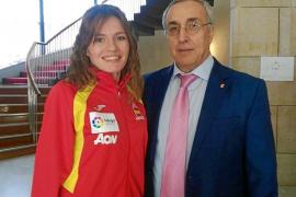 Dos medallas, objetivo de Cristina Ferrer
