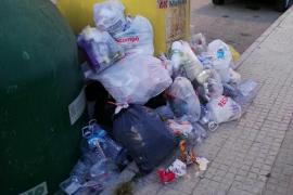 Imposible reciclar en s'Arenal