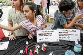 Los niños de Eivissa llenan Vara de Rey con el Mercat ICAPE