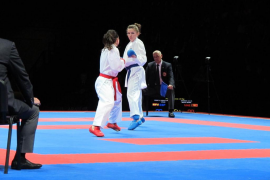 Cristina Ferrer, bronce en el Europeo de karate